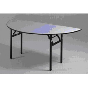 Table Banquet Foldable Demi Rond