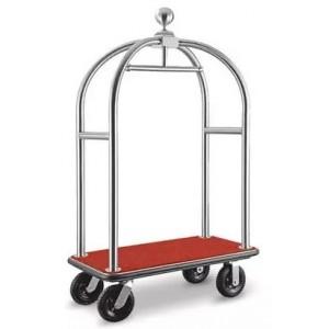 Chariot de bagage chrome