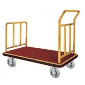 Chariot de bagage doré