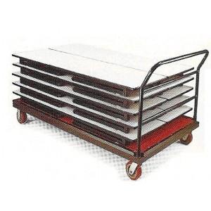 Chariot pour table rectangulaire